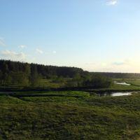Вид на речку Осуга., Калинин