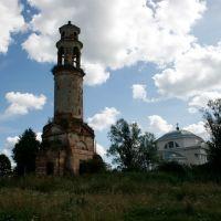 Казанская церковь и колокольня усадьбы Арпачево (арх. Львов)_2, Калинин
