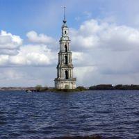 Flooded bell tower / Затопленная колокольня, Калязин