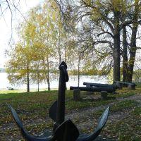 le bord du fleuve, Калязин