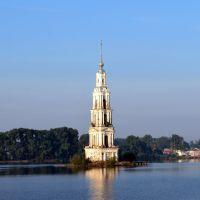 Калязин. Колокольня Никольского собора.  Kalyazin. The bell tower of St. Nicholas Cathedral., Калязин