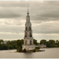 "Kalyazin - torre de mosteiro ""sacrificado"" - Russia .τ®√ℓΞΛج, Калязин"