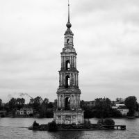 Versunkener Glockenturm / Sunken Belltower / Kaljasin, Калязин
