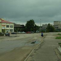 Центральная площадь, Кесова Гора