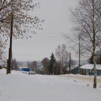ул. Нагорная январь 2008, Кесова Гора
