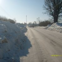 Выпал первый снег, Кесова Гора