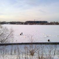 Волга зимой, Кимры