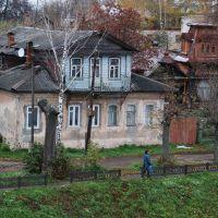 Кимры. Старинные дома на набережной Фадеева, Кимры
