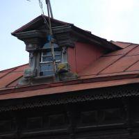 Кимры. Слуховое окно дома на ул. Салтыкова-Щедрина, Кимры