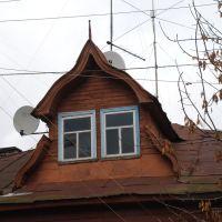 Кимры. Слуховое окно дома на ул. Калинина, Кимры