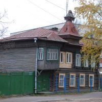 Кимры. Старый деревянный дом на ул. Орджоникидзе, Кимры