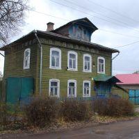 Кимры. Старый деревянный дом на улице Пушкина, Кимры
