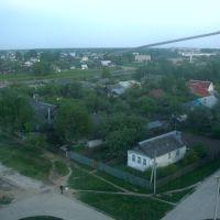 Вид на город из окна моей комнаты (Konakovo from the flats window), Конаково