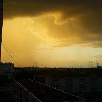 """Жёлтая гроза"" (Yellow thunderstorm), Конаково"