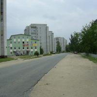 Улица Набережная Волги (The Volgas embankment street), Конаково