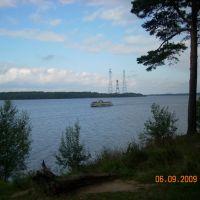 Вид на Волгу., Конаково
