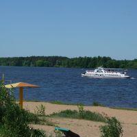 река Волга /Volga river, Конаково