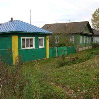 Дома на ул.Базарной, Красный Холм
