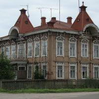 Город Красный Холм, дом на ул. Льва Толстого, Красный Холм