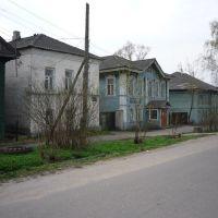 Тверская область, город Красный Холм, улочка старинная, Красный Холм