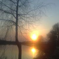 Весенний закат, Кувшиново