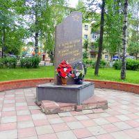 г. Нелидово, Тверская область, Россия. Памятник в честь 60-летия Победы., Нелидово