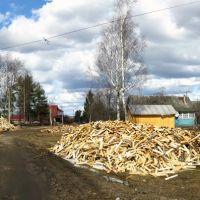 дрова, Оленино