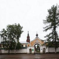 Знаменский женский монастырь. Основан в 1673 году, Осташков