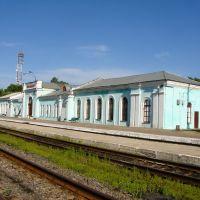 Вокзал Осташков, Осташков