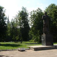 Ленин в Осташкове, Осташков