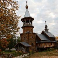 Пено. Церковь Сергия Радонежского, Пено