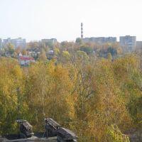 Вид с колеса обозрения на восток / View from a big wheel on east, Ржев