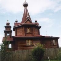 Деревянная церковь на улице Краностроителей  /  Wooden Church in Kranostroitelej Street, Ржев