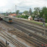 Сонково, вид с переходного моста, Сонково