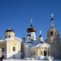 Троицкий и Успенский соборы, Свято-Успенского мужского монастыря. Старица, Старица