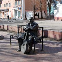 Тверь. Памятник Михаилу Кругу на бульваре Радищева, Тверь