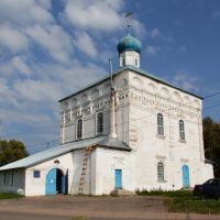 Торопец. Церковь Казанской иконы Божией Матери, Торопец