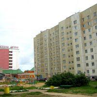 Вид на гостинницу, Удомля