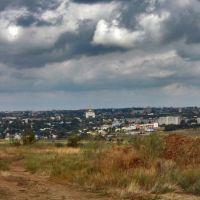 Вид на центр Элисты, Аршань