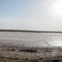 Unnamed salt lake., Комсомольский