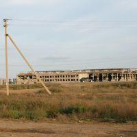 Нерождённый завод ЖБИ в степи, Малые Дербеты