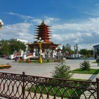 Пагода Семи дней на Центральной площади, Приютное