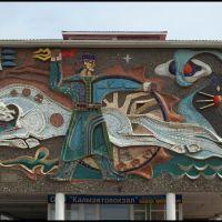 Mural of Elista Bus Terminal, Приютное