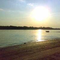 Вечер на песчаном берегу, Цаган-Аман
