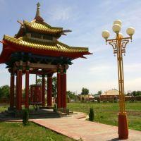 Пагода одного из молитвенного барабана, Элиста
