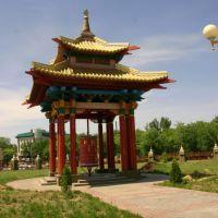 Пагода молитвенного барабана, Элиста