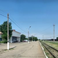 ж. д. вокзал (станция Элиста), Элиста