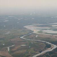 Борисовка впадает в Волгу, Юста