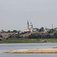 храм в Солёном Займище, Юста
