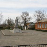 памятник генерал-лейтенанту Л.А. Пэрну, Яшалта